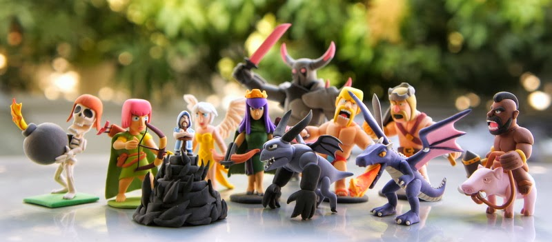 Clash of Clans Gifts, Toys and Figures